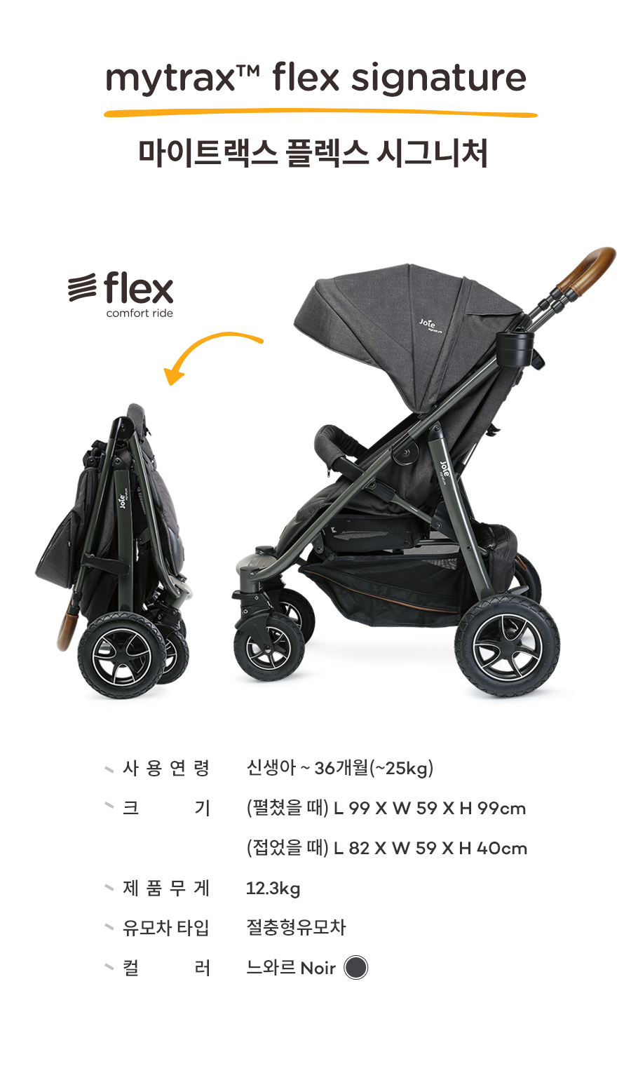 joie signature mytrax flex