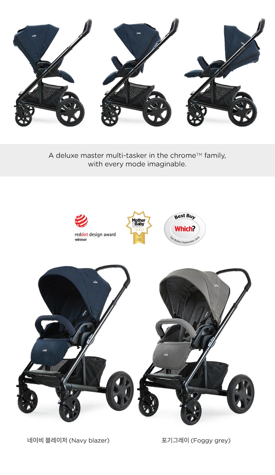 2019 chromedlx deluxe stroller